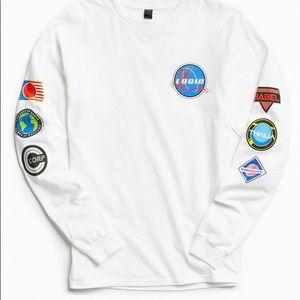 Logic (NASA) Space Patches Long Sleeve Tee